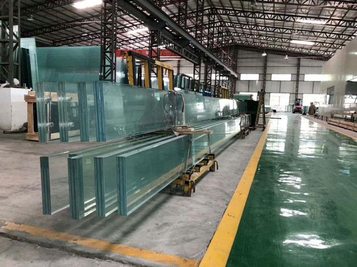 鱼缸玻璃原材料(工厂选购一角)