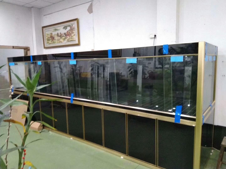 2018年9月深圳一公司办公室鱼缸定做