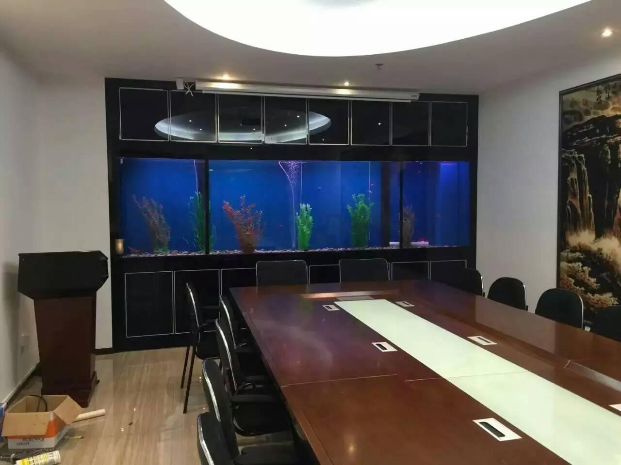 会议室鱼缸