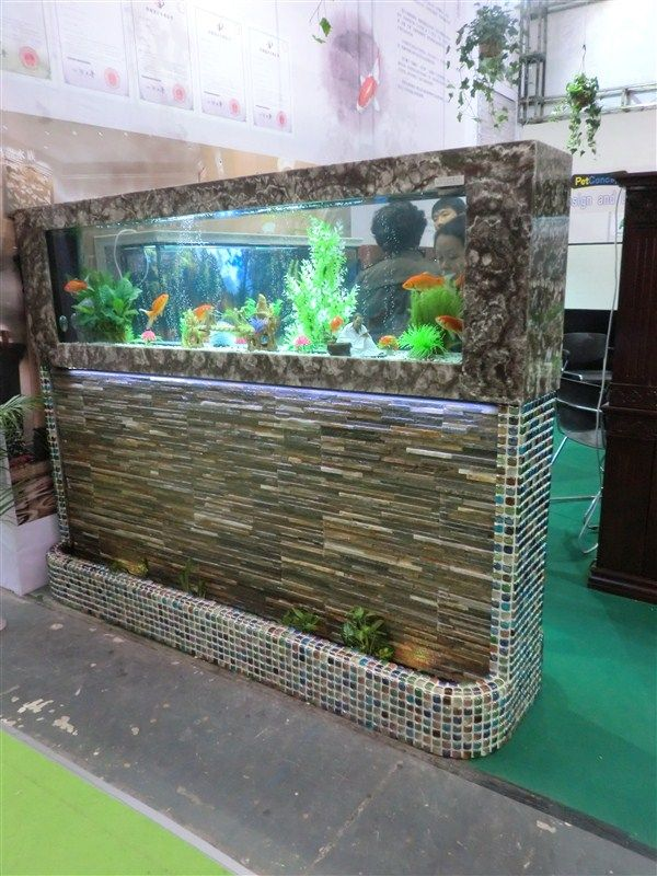 水幕墙鱼缸/水幕墙水族工程
