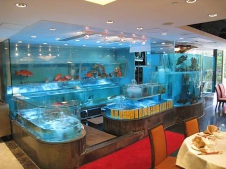 海鲜鱼池,餐厅鱼鱼池,酒楼海鲜鱼池定做