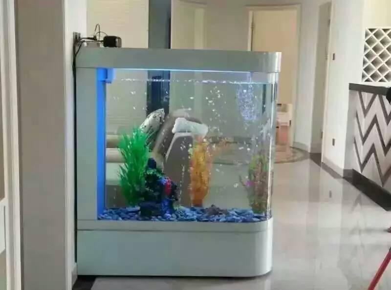 欧式白色鱼缸